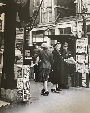 Filmore and Geary, San Francisco, CA 1947
